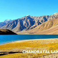Camping at Chandratal Lake