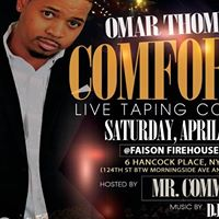 Omar Thompson Live 30mins Standup Comedy Taping &quotIm Comfortable&quot