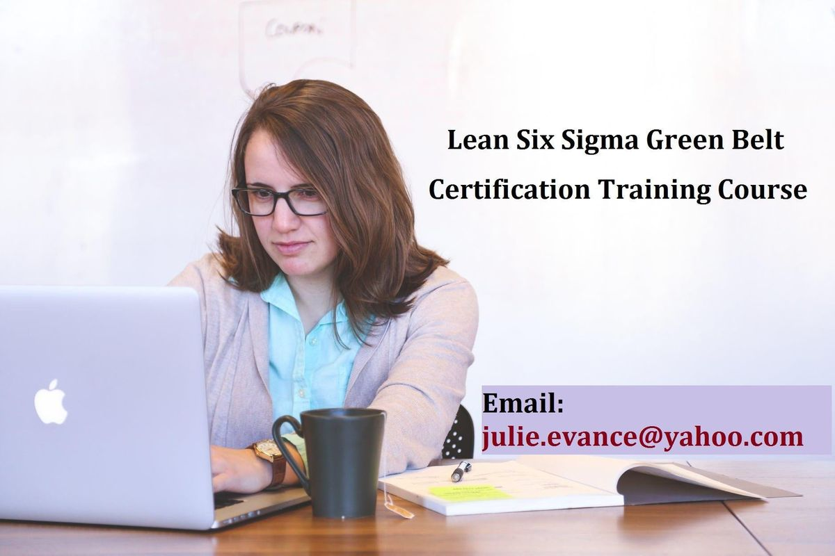Lean Six Sigma Green Belt (LSSGB) Certification Course in Boulder City NV