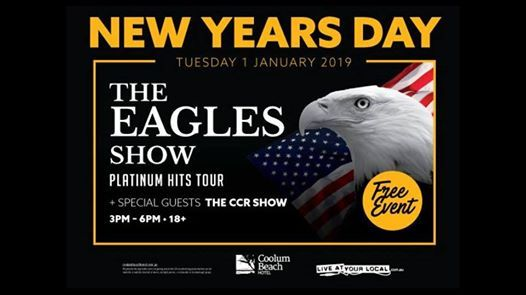 The Eagles and Friends  CCR Show - New Years Day