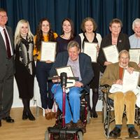 Harling Parish Council Coffee evening and Honours board unveilin