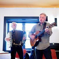Olaf Kran og Trond Romstad - Sang gitar og trekkspill