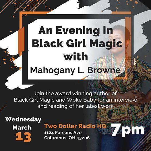 An Evening in Black Girl Magic w Mahogany L. Browne