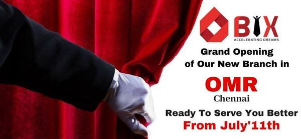 BIX IT ACADEMY - New Branch in OMR