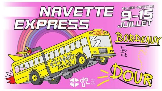CLANK - Navette express DOUR Festival