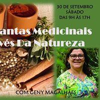 Oficina de Plantas Medicinais - Sade Atravs da Natureza