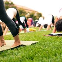Try Outdoor Pilates (Botanic Gardens)