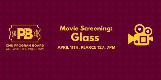 Movie Screening Glass