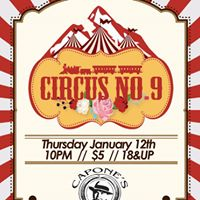 Blue Grass night with Circus No. 9