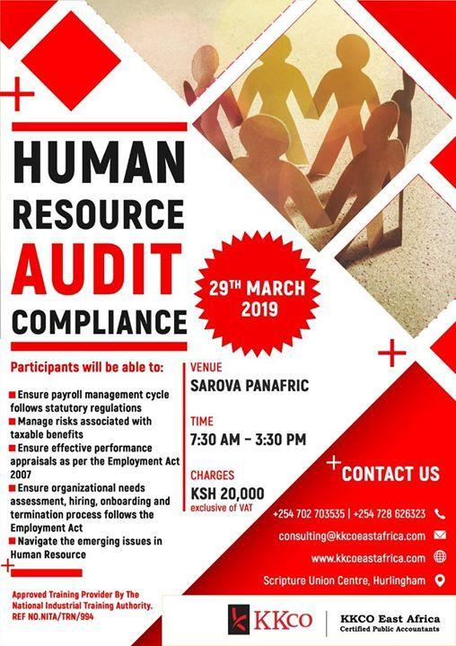 Human Resource Audit Compliance