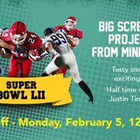 Super Bowl LII  2018 Live Screening