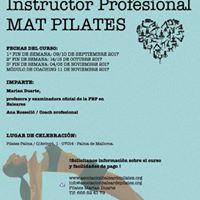 Curso Instructor Profesional Mat Pilates
