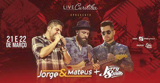 Jorge & Mateus dia 21 e 22 de Maro na Live Curitiba