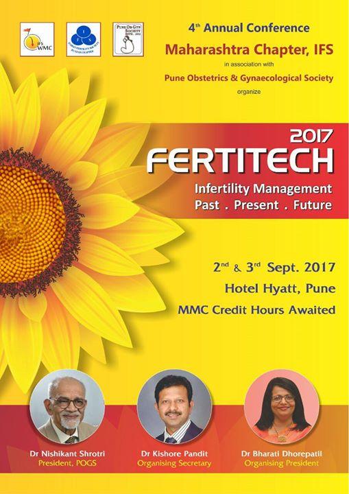 4th Annual Conference of Maharashtra ChapterIFS - Fertitech 17