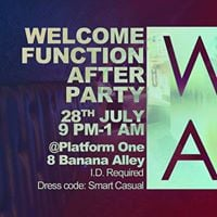 Welcome Function After Party