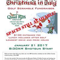 Golf Tournament Jan 21st