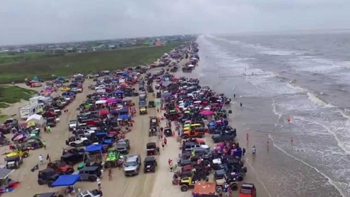 Go Topless 2018 Jeep Weekend in Crystal Beach, Texas on Bolivar Peninsula! at Bolivar Peninsula ...