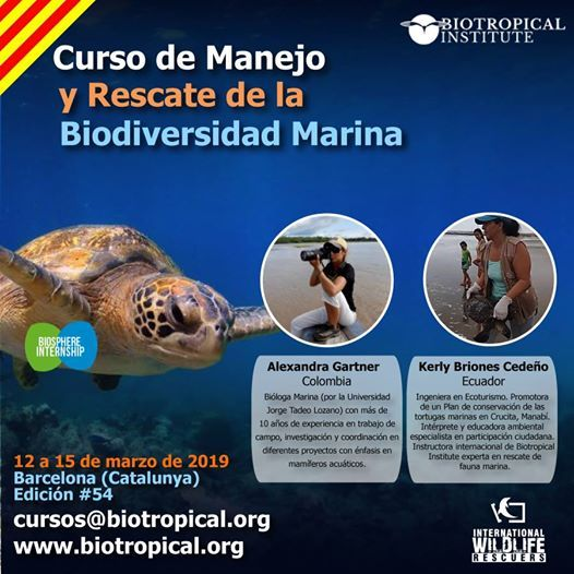 Barcelona Manejo y Rescate de la Biodiversidad Marina