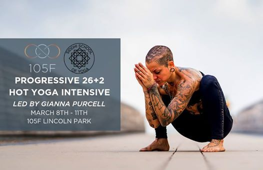 Progressive 262 Hot Yoga Intensive with Gianna Purcell