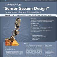 Workshop on &quot Sensor System Design&quot