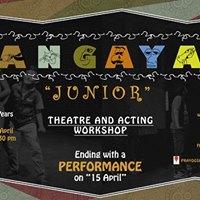 Rangayan Junior - Theatre &amp Acting Workshop for Kids