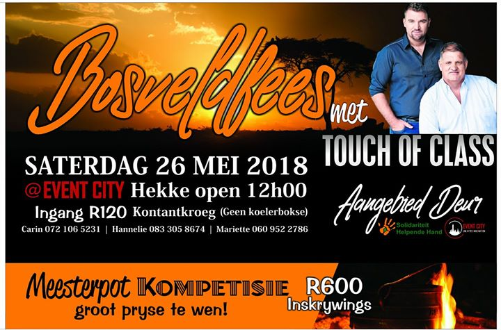 Bosveldfees Met Touch Of Class