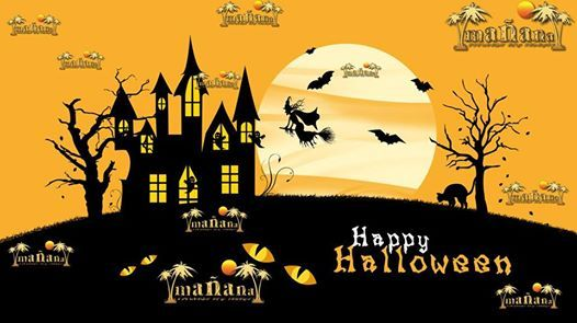 Most Outrages Halloween PARTY in Malaga  31 october in Manaa
