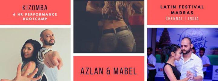 Azlan & Mabel Kizomba Performance Bootcamp