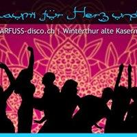 BARFUSS-disco Winterthur  Alte Kaserne Kulturzentrum