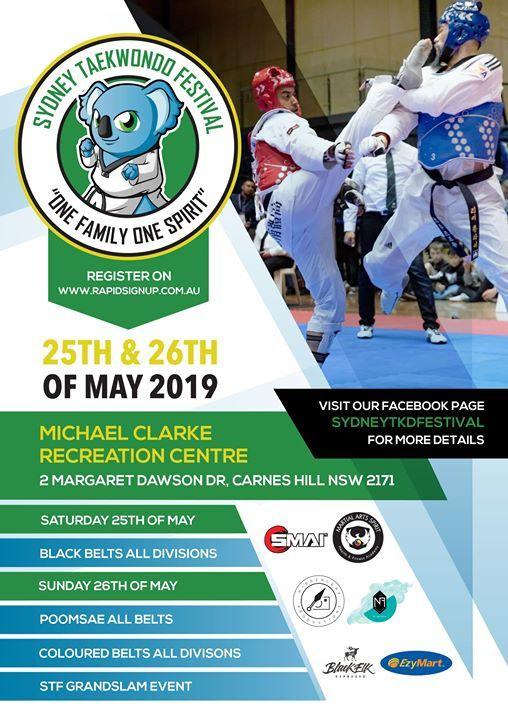 The 6th Sydney Taekwondo Festival