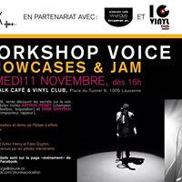 Workshop Voice au Vinyl Club de Lausanne