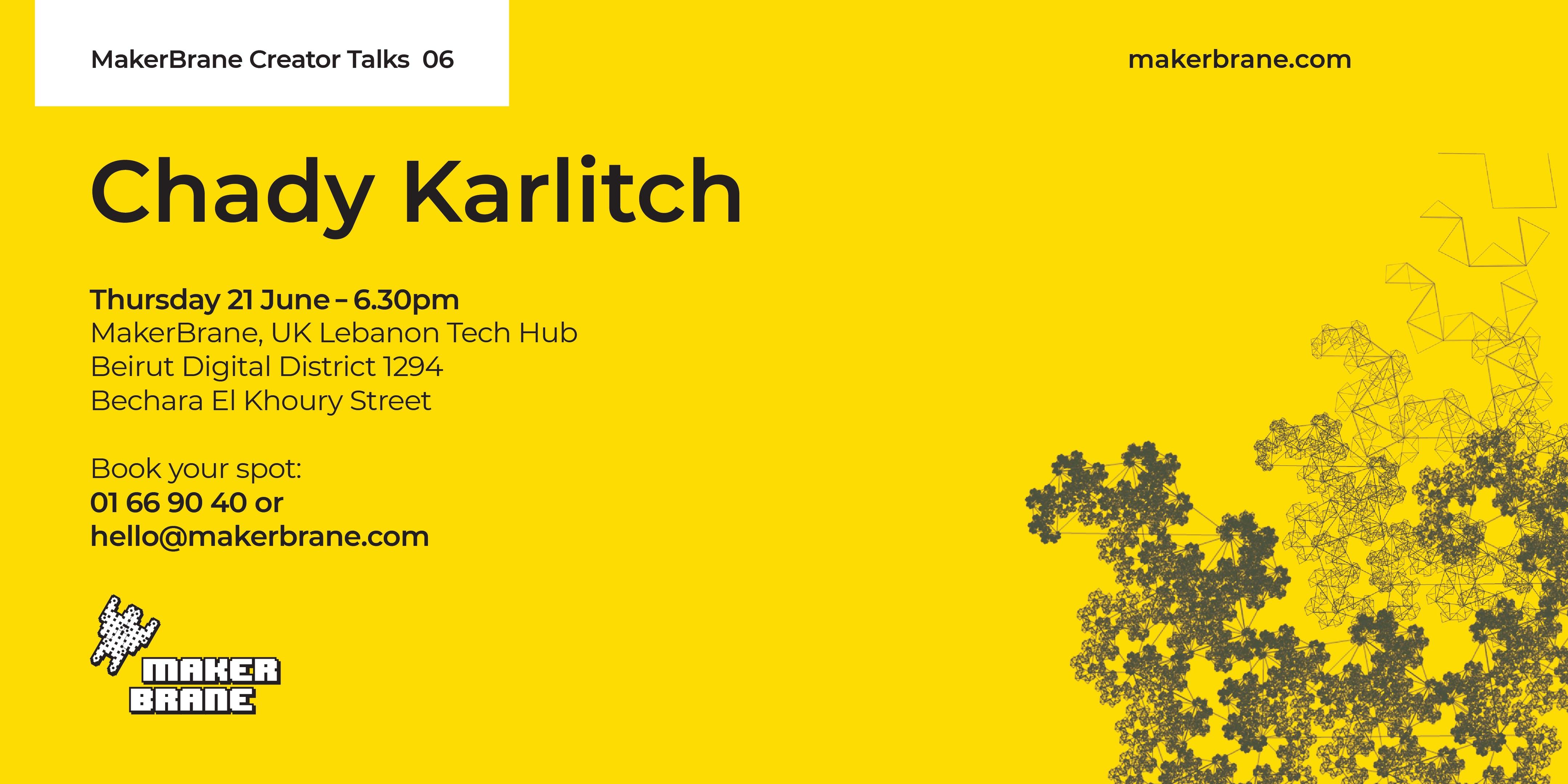 MakerBrane Creator Talk 6