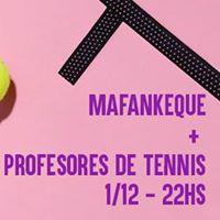 Mafankeque  Profesores de Tennis en Casa del Pueblo