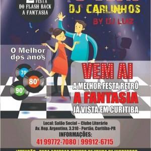 2 Festa do Flash Back a Fantasia do DJ Carlinhos