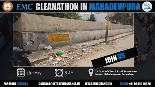 Cleanathon In Association with EMC and YFS