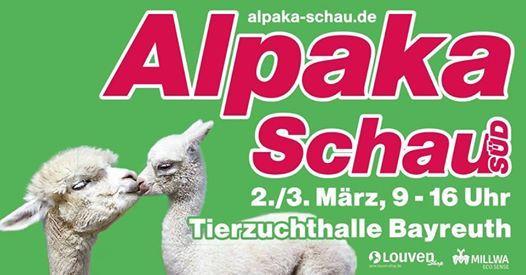 Alpaka Schau Sd in Bayreuth  das Tier- und Einkaufserlebnis