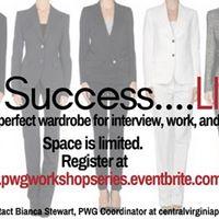 Dress for SuccessLiterally
