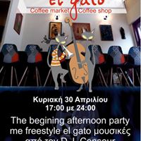 1st Afternoon party El Gato music by ConSour