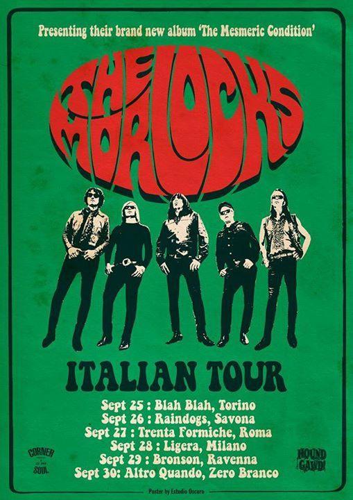 The Morlocks (Usa Garage punk legend) release party