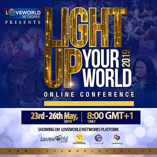 Light Up Your World Online Conference 2019
