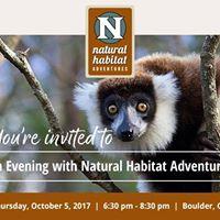 An Evening with Natural Habitat Adventures