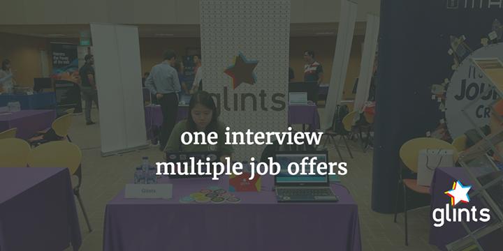 Glints at NUS Computing Career Fair