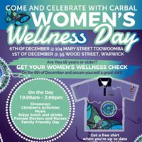 Carbal Medical Womens Wellness Day - Toowoomba
