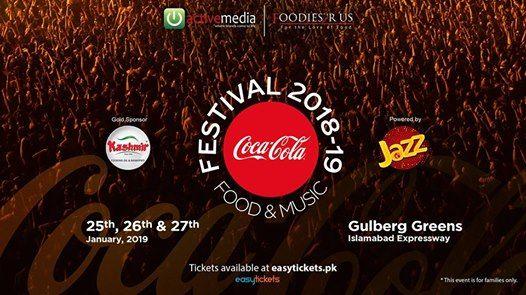 Coke Food and Music Festival 2018-19 Islamabad