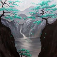 Paint &amp Pour with Tamara Kwapich