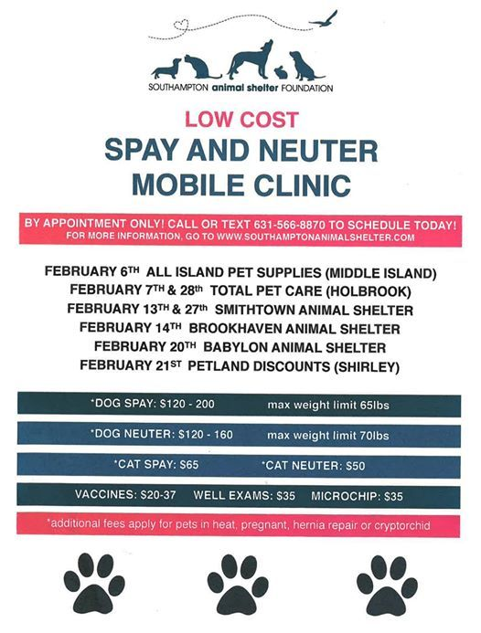 Spay & Neuter Mobile Clinic