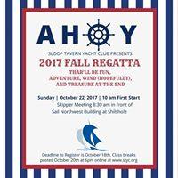 STYC Fall Regatta 2017