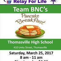 Team BNCs Pancake Breakfast