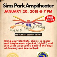 Sims Park Ampitheater- Chain Reaction