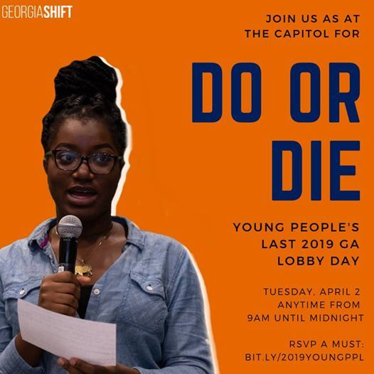 Do or Die Young Peoples Last 2019 Lobby Day